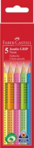 Holz Trockenmarkierer Faber Castell Jumbo Grip neon