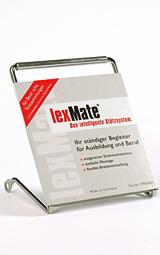 lexMate Buchstütze (breit) für Steuererlasse und Schönfelder