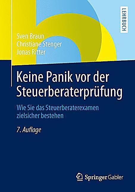 Buch Keine Panik vor der Steuerberaterprüfung